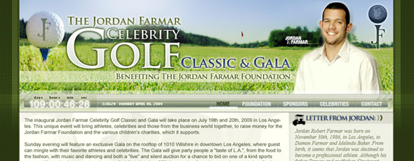 JFF-Celebrity Golf Classic & Gala Website